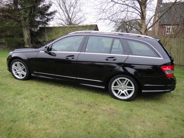 2009 mercedes benz c class c200 sport cdi auto black. Black Bedroom Furniture Sets. Home Design Ideas