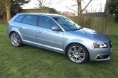 2011 AUDI A3 S LINE 2.0 TDI SPORTBACK 5 DOOR, FULL LEATHER