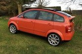 2001 Jaipur Red Audi A2 TDI SE – Huge Spec & Extras