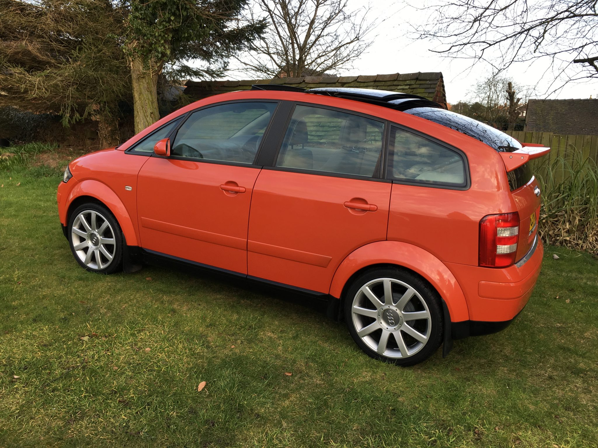 2001 jaipur red audi a2 tdi se huge spec extras. Black Bedroom Furniture Sets. Home Design Ideas