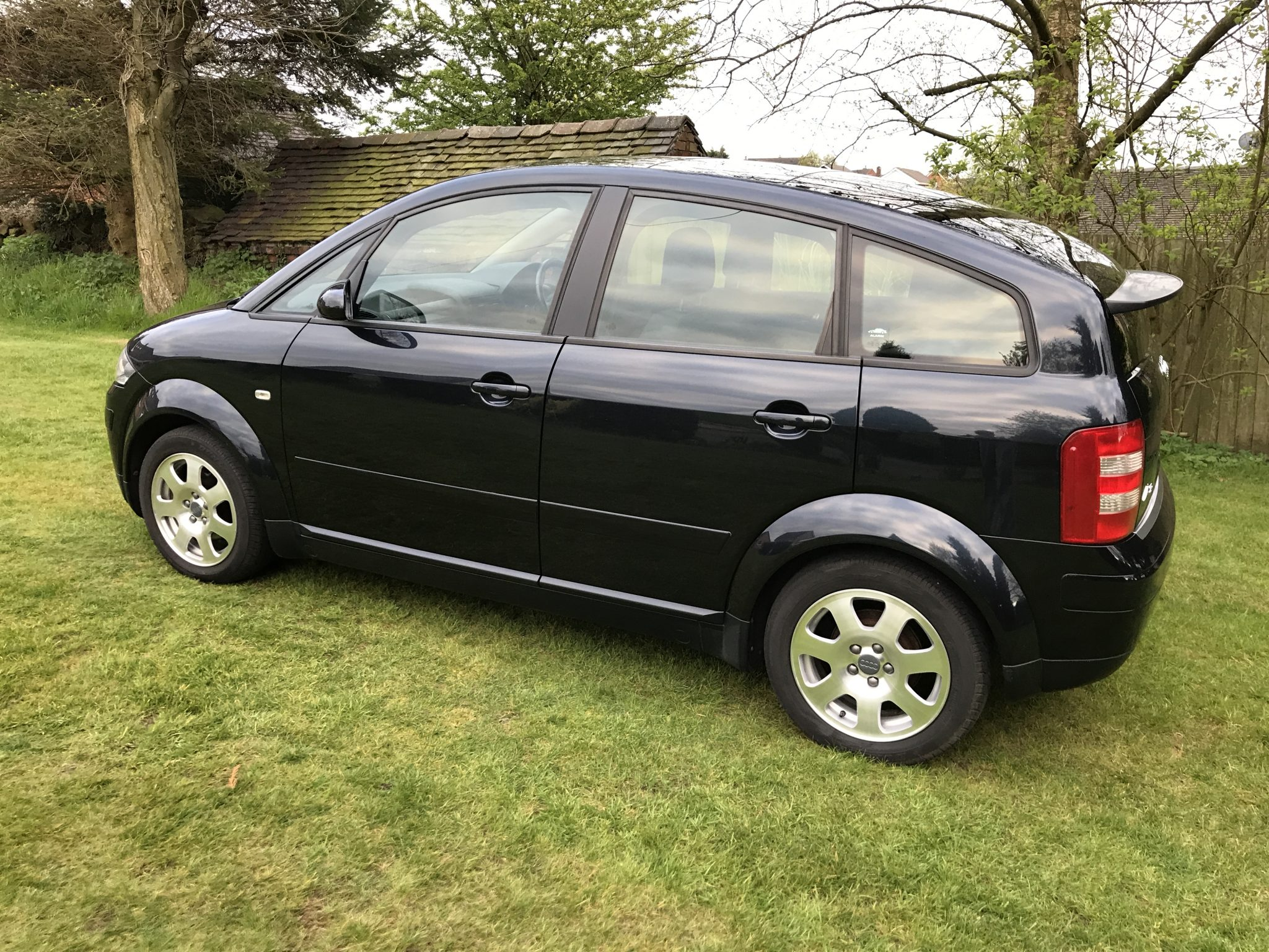 2002 Audi A2 1 4 Petrol Blue Only 34 000 Miles Fsh Open