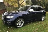 2014 Audi SQ5, 3.0 Bi-Tdi 309bhp,Quattro HUGE SPEC,1 Owner,Estoril Blue