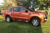2015 (65) Ford Ranger Wildtrak 3.2TDCI AUTO Pick-Up, ONLY 40,000 MILES