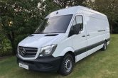 2016 16 MERCEDES-BENZ SPRINTER 2.1 313CDI LWB HIGH ROOF 130BHP. ONLY 76000 MILES