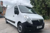 2015 65 Vauxhall Movano LWB, 2.3CDTI 125PS L3H2 F3500, ONLY 66000 MILES, AIR CON