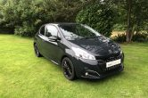 2017 (17) Peugeot 208 1.2 PureTech Black Edition 3dr, ONLY 19,000 Miles