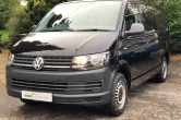 2016 (66) VW TRANSPORTER T6 SWB T32 2.0 EU6, BLACK, 150 BHP, 6 SPEED, NO VAT