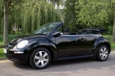 VW Beetle Convertible 1.4 Black