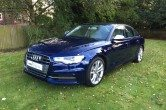 2013 Audi S6 Saloon 4.0 TFSI, Estoril Blue, High Spec