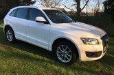 Audi Q5 2.0 TDI S TRONIC SE Quattro WHITE, 170bhp, FSH, Auto