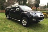 2013 Isuzu D-Max 2.5TD (161bhp) 4×4 Utah, Truckman Top, 1 Owner, Heated Leather