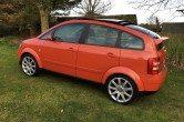 2001 Jaipur Red Audi A2 TDI SE – Huge Spec & Extras