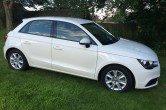 2012 (12) Audi A1 5dr Sportback SE 1.6 TDI, WHITE, Low Mileage