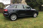 Audi Q3 SE 2.0 TDI, Cobalt Blue, SAT NAV
