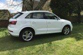 Audi Q3 S Line 2.0 Tdi,Manual,18″ Alloys,Glacier White,Leather