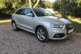 2013 Audi Q3 2.0 TDI S Line, FSH, SAT NAV, Heated Seats
