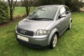 2005 (05) Audi A2 1.4 Petrol Sport, Akoya Silver, Only 84,000 Miles