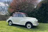 1970 Morris Minor 1000 Convertible, Fully Restored, Exceptional Condition
