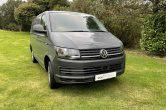 2018 (68) VW TRANSPORTER T6 SWB T28, (102), EU6, ONLY 31,000 MILES, PURE GREY, NO VAT