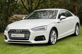 2017 (17) Audi A5 2.0 tdi Sport Ultra, 2dr Coupe,Manual,White,ONLY 31,000 Miles